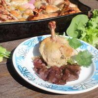 Куриные зонтики - отличное порционное блюдо. Можно есть без вилки, руками