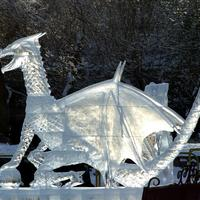 Зимние забавы для профи, или Фестивали ледяных и снежных скульптур