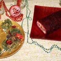 """""""Сельдь в шубе""""... или селедка под шубой в виде рулета на вашем новогоднем столе"""