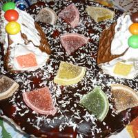 """Торт """" Новогодняя фантазия"""""""