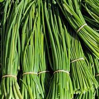 Готовимся с внуком продавать зеленый лук на рынке
