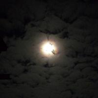 Полнолуние. Небо над дачей