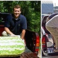 Самый большой арбуз в мире (122 кг)