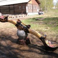 Настоящие русские качели