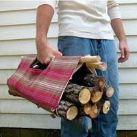 Удобная переноска для дров