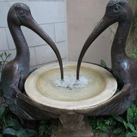 Фонтан-чаша две птицы