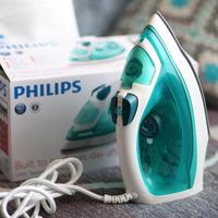 Мой приз за конкурс дачных фото - замечательный  паровой утюг от Philips