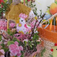 Пасхальная выставка в детском садике