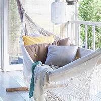 10 восхитительных идей для гамаков на даче