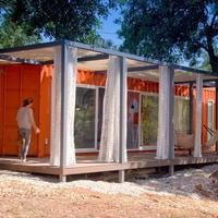 Как с нуля красиво оформить домик на основе железного контейнера