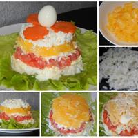 Нежный салат с семгой и апельсинами - любимец на столе нашей семьи