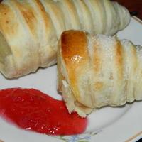 Груши, запеченные в слоеном тесте