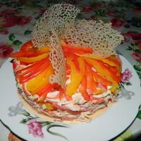 "Салат ""Коралловый риф"""