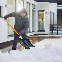 Отзыв о лопате для уборки снега Fiskars