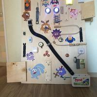 Бизиборд своими руками: делаем развивающую доску для детей