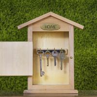 Домик для золотого ключика, или Несколько идей оригинальных ключниц
