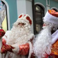 Идея для костюмированной вечеринки, или Дедов Морозов много не бывает