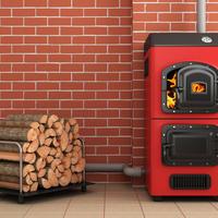 Как правильно топить котел дровами