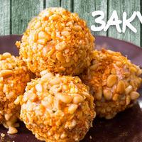 Рыбный салат в шариках — Золотая закуска к Новому году!