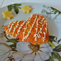 Сердечный салат для праздничного настроения