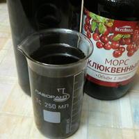 Напиток из сушеного шиповника (водный настой с сахаром без нагревания)