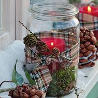 Новый год приходит в сад: идеи декора