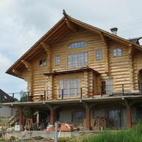Подготовка к строительству бревенчатого дома