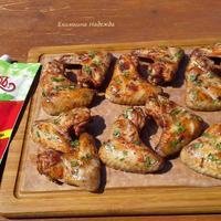"""Крылышки на гриле в томатном маринаде с Томатным кетчупом """"Махеевъ"""""""