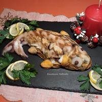 Чудо-юдо заливная рыба из морепродуктов