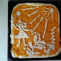 Веселый морковный пирог