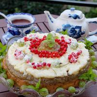 Десерт с крыжовником