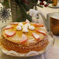 Лимонный пирог. Реплика рецепта Софьи Андреевны Толстой