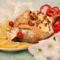 Рыбные лодочки с грибами