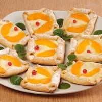 """Мастер-класс """"Творожное печенье с консервированными абрикосами"""""""