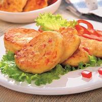 Сырники без творога с картофелем