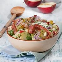 Шведский салат по-деревенски - блюдо для активных и энергичных