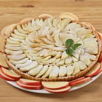 Успенский пирог с яблочками нового урожая - можно в пост
