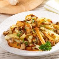 Новый вкус картошки с грибами. Просто добавьте сыр!