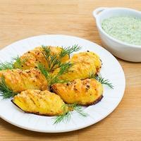 Любимый рецепт картошки-гармошки. Просто и очень вкусно