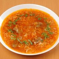 Наваристый суп-харчо с говядиной в мультиварке