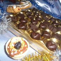 """Шоколадные новогодние конфетки-ассорти """"Праздник к нам приходит!!!"""""""