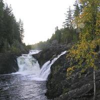 Путешествие в Карелию. Водопад Кивач.