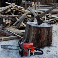 Заготовка дров - дело важное