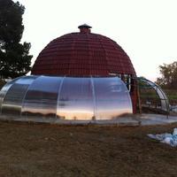 Как создать защиту от солнца в пристройке из поликарбоната?