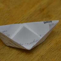 Как сделать кораблик из бумаги?