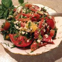 Очень  легкий  летний салат