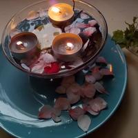Подсвечники для плавающих свечей к празднику