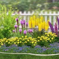 Цветник в природном стиле