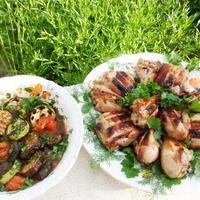 Ужин выходного дня на даче - два вкуснейших блюда на открытом огне
