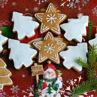 Рождественские пряники медовые